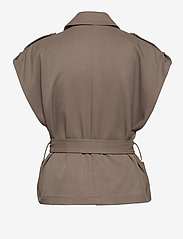 Gestuz - AbiGZ waistcoat SO21 - puffer vests - earth - 3