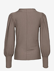 Gestuz - RifaGZ puff blouse - langærmede bluser - earth - 2