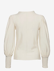 Gestuz - RifaGZ puff blouse - langærmede bluser - egret - 2