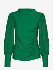 RifaGZ puff blouse - GREEN JACKET