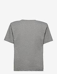 Gestuz - JoryGZ tee - t-shirts - grey melange - 2
