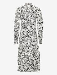Gestuz - CameaGZ ls dress SO21 - stramme kjoler - black/white vintage - 2