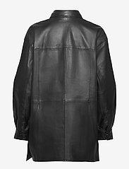 Gestuz - KyleeGZ shirt SO21 - overshirts - black - 2