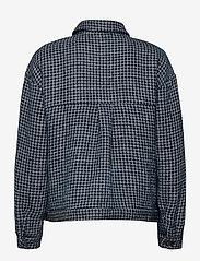 Gestuz - CleaGZ jacket SO21 - wool jackets - navy/white check - 2