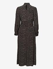 Gestuz - TikaGZ midi dress SO21 - midi kjoler - brown strokes - 2