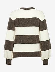 Gestuz - DebbieGZ striped pullover - trøjer - earth - 2