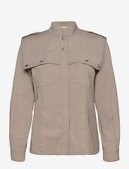 Gestuz - ViraGZ shirt SO21 - overshirts - walnut - 1