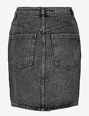 Gestuz - AleahGZ mini skirt SO21 - denimnederdele - storm grey - 2