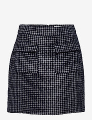 Gestuz - CleaGZ skirt SO21 - korte nederdele - navy/white check - 1