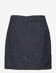 Gestuz - CleaGZ skirt SO21 - korte nederdele - navy/white check - 2