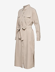 Gestuz - DosiaGZ OZ shirt dress SO21 - midi jurken - pure cashmere - 4