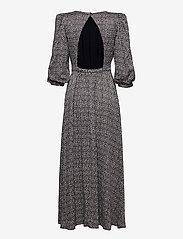Gestuz - IlaGZ midi dress - aftenkjoler - moonbeam square dot - 2