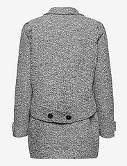 Gestuz - LucilaGZ coat MS21 - wollen jassen - herringbone dusty green - 2