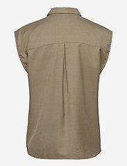 Gestuz - LeejaGZ sl shirt - kortærmede skjorter - brindle - 2