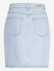 Gestuz - DacyGZ HW skirt - jeanskjolar - light blue vintage - 2