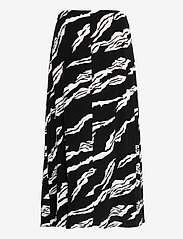 Gestuz - ZohaGZ skirt MS21 - midinederdele - black scratch - 2