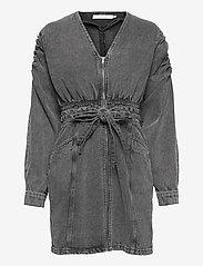 Gestuz - AleahGZ dress - hverdagskjoler - storm grey - 1