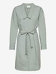 Gestuz - JilanGZ shirt dress MS21 - hverdagskjoler - slate gray - 1