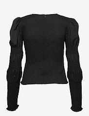 Gestuz - MazziGZ ls blouse MS21 - langærmede bluser - black - 2