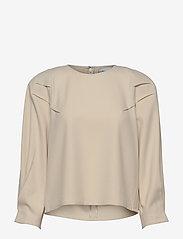 Gestuz - KlaraGZ blouse MS21 - langærmede bluser - moonbeam - 1
