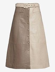 Gestuz - RoxanneGZ HW skirt - midinederdele - pure cashmere - 1