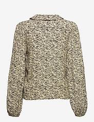Gestuz - EileenGZ shirt - langærmede bluser - yellow wave - 2