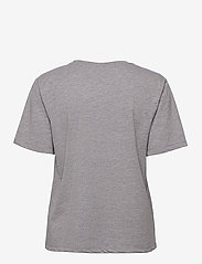Gestuz - RoxieGZ ss tee NOOS - t-shirts - grey melange - 2