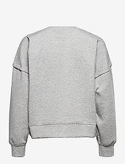Gestuz - ChrisdaGZ MEL sweatshirt - sweatshirts - light grey melange - 1