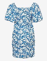 Gestuz - MynteGZ short dress - sommerkjoler - blue flower - 2