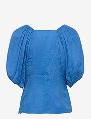Gestuz - BegoniaGZ blouse - kortærmede bluser - french blue - 2