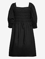 Gestuz - LenaGZ dress - sommerkjoler - black - 2