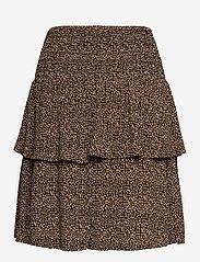 Gestuz - LifGZ skirt - midi nederdele - brown mini leo - 2