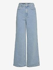 Gestuz - ElmaGZ HW wide pants - brede jeans - light blue - 0