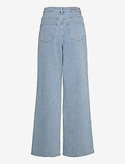 Gestuz - ElmaGZ HW wide pants - brede jeans - light blue - 2