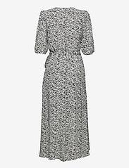 Gestuz - DisGZ wrap dress - sommerkjoler - grey wave - 2