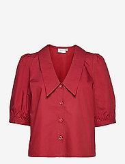 BrietGZ ss shirt - RED RHUBARB