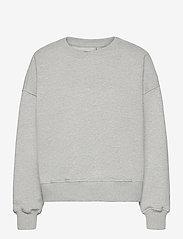 Gestuz - RubiGZ sweatshirt NOOS - sweatshirts & hættetrøjer - light grey melange - 1