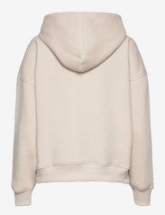 Gestuz - RubiGZ hoodie - sweatshirts & hættetrøjer - moonbeam - 2