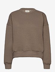 Gestuz - RubiGZ sweatshirt - sweatshirts & hættetrøjer - earth - 1