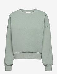 Gestuz - RubiGZ sweatshirt - sweatshirts & hættetrøjer - slate gray - 1