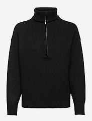 TalliGZ zipper pullover - BLACK