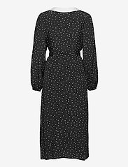 Gestuz - KatlaGZ dress - hverdagskjoler - black w. white dot - 2