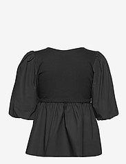 Gestuz - CristinGZ blouse - kortærmede bluser - black - 2