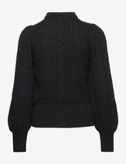 Gestuz - RawanGZ collar cardigan - black - 2