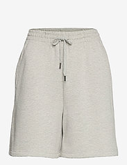 Gestuz - NankitaGZ HW shorts - shorts casual - light grey melange - 1
