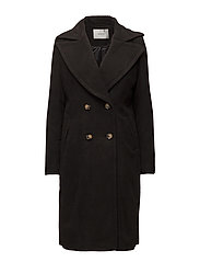 Maya coat - BLACK
