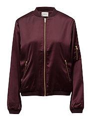 Georgie bomber jacket YE16 - WINETASTING