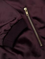 Gestuz - Georgie bomber jacket YE16 - bomber jakker - winetasting - 3