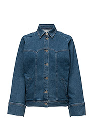 Cecily jacket SO17 - MEDIUM BLUE