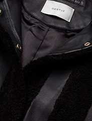 Gestuz - Vatan jacket YE16 - nahkatakit - black - 3